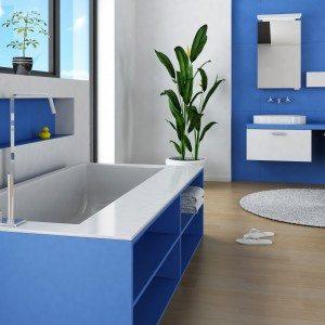 Frisse badkamer in kleur - Hofstade - Mechelen
