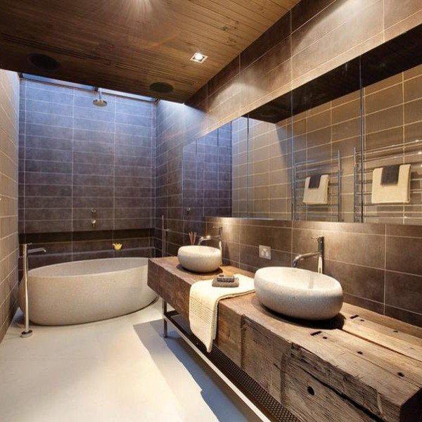 Huiselijke badkamer renovatie